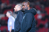 Chris Powell of Southend United (Manager) during the EFL Sky Bet League 1 match between Doncaster Rovers and Southend United at the Keepmoat Stadium, Doncaster, England on 12 February 2019.