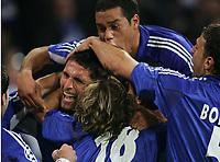 Jubel 1:0 Kevin Kuranyi, Rafinha, Rodriguez, Marcelo Bordon Schalke<br /> Champions League FC Schalke 04 - Fenerbahce Istanbul<br /> Norway only