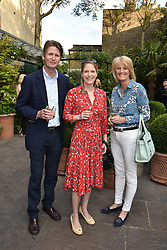 David & Lady Isabella Naylor-Leyland and their daughter Victoria Naylor-Leyland at The Ivy Chelsea Garden's Annual Summer Garden Party, The Ivy Chelsea Garden, 197 King's Road, London England. 9 May 2017.<br /> Photo by Dominic O'Neill/SilverHub 0203 174 1069 sales@silverhubmedia.com