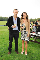 PIPPA MIDDLETON and JAMES MIDDLETON at the 4th Jaeger-LeCoultre Polo Cup in aid of the James Wentworth-Stanly Memorial Fund held at Coworth Park, Ascot, Berkshire on 10th September 2010.