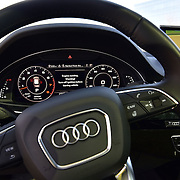 PHILADELPHIA, PA - APRIL 16:  Audi Q7 console close up during The Impossible Reservation: Philadelphia presented by Audi on April 16, 2016 in Philadelphia, Pennsylvania.  (Photo by Lisa Lake/Getty Images for Audi)