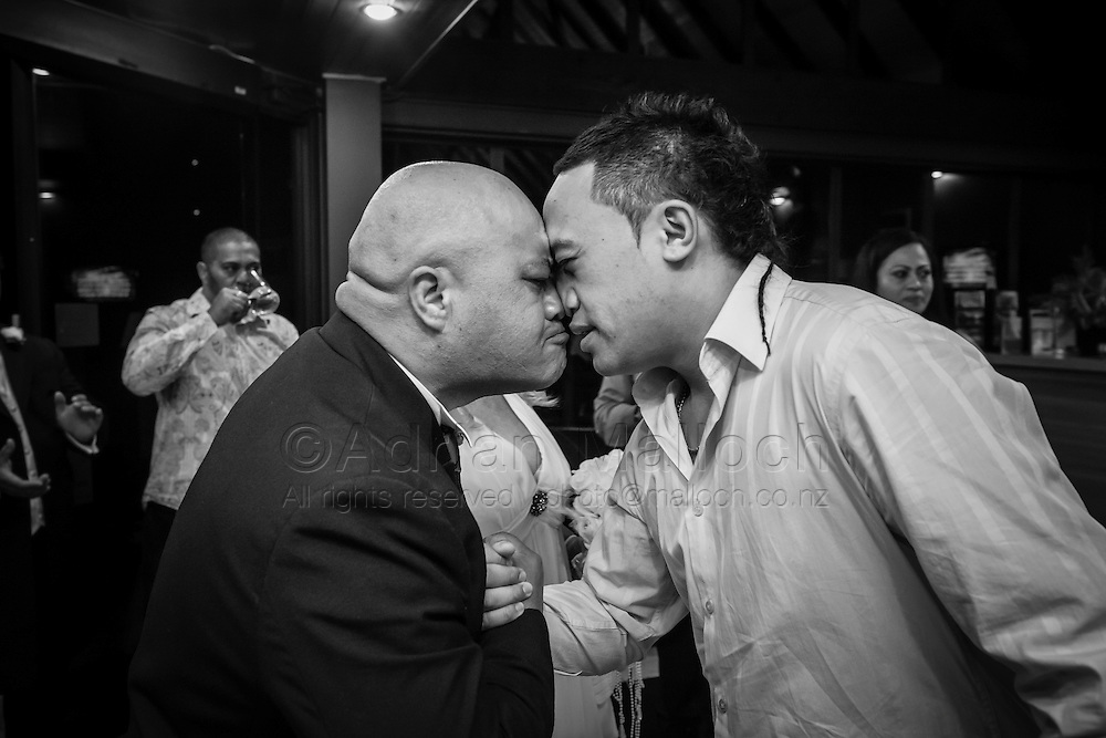 Roger Te Tai and Sally Anderson's wedding in Queenstown, 2010.
