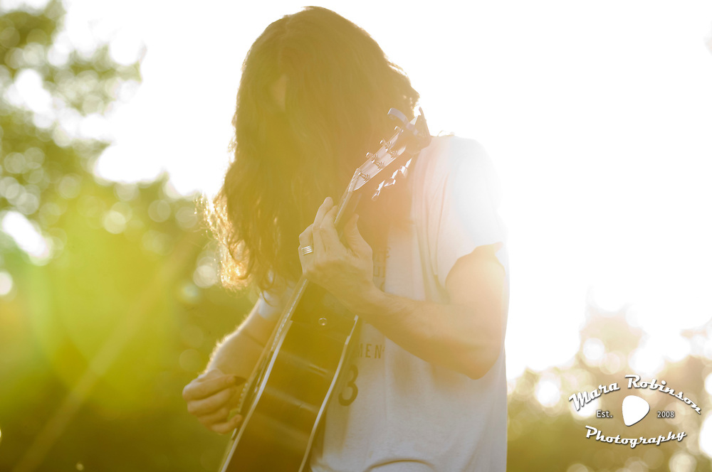 Kurt Vile live at the Nelsonville Music Festival Friday May 18. 2012 7pm photo by Mara Robinson