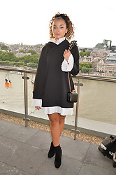 Ella Eyre at the Emporio Armani YOU fragrance launch at Sea Containers, 18 Upper Ground, London England. 20 July 2017.<br /> Photo by Dominic O'Neill/SilverHub 0203 174 1069 sales@silverhubmedia.com