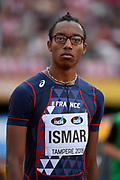 Nathan Ismar (FRA) competes in High Jump Men during the IAAF World U20 Championships 2018 at Tampere in Finland, Day 3, on July 12, 2018 - Photo Julien Crosnier / KMSP / ProSportsImages / DPPI