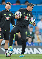 Football - 2016/2017 Premier League - Chelsea V West Ham United. <br /> <br /> Angelo Alessio, Assistant Coach of Chelsea, at Stamford Bridge.<br /> <br /> COLORSPORT/DANIEL BEARHAM