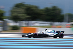 June 23, 2018 - Le Castellet, Var, France - Williams Driver SERGEY SIROTKIN (RUS) in action during the Formula one French Grand Prix at the Paul Ricard circuit at Le Castellet - France. (Credit Image: © Pierre Stevenin via ZUMA Wire)