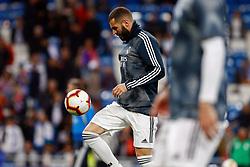 March 2, 2019 - Madrid, Spain - Real Madrid CF's Karim Benzema during La Liga match between Real Madrid and FC  Barcelona at Santiago Bernabéu in Madrid..Final Score: Real Madrid 0 - 1 FC Barcelona (Credit Image: © Manu Reino/SOPA Images via ZUMA Wire)