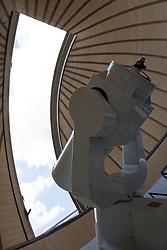 Anzi (PZ) 12.08.2009 Italy - Il Planetario, osservatorio astronomico realizzato in località Santa Maria sul  Monte Siri. Nella Foto: Il telescopio. Foto Giovanni Marino