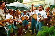 PUERTO RICO, FESTIVALS college students singing