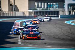 December 15, 2018 - Abu Dhabi, EMIRATS ARABES UNIS - 3 BULLITT RACING MERCEDES AMG GT4 OLLI CALDWELL (GBR) IAN LOGGIE (GBR) OLEG KHARUK  (Credit Image: © Panoramic via ZUMA Press)