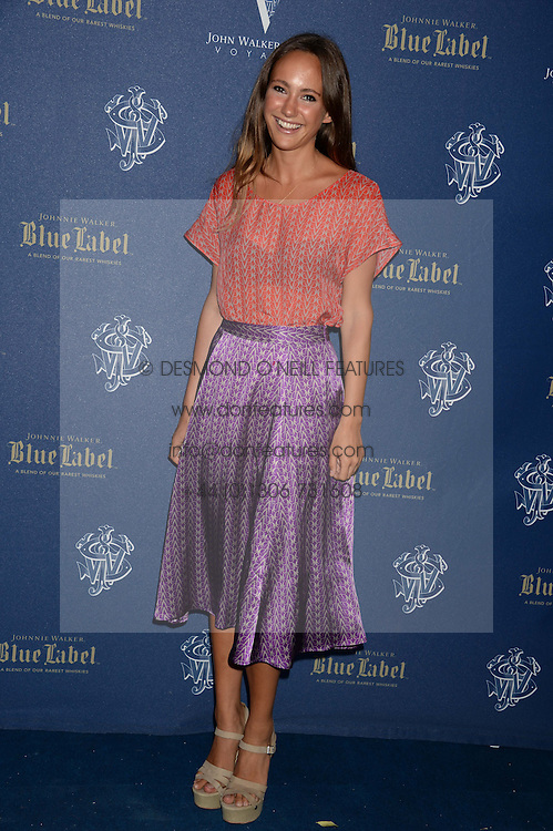 The Johnnie Walker Blue Label and David Gandy Drinks Reception aboard John Walker & Sons Voyager, St.Georges Stairs Tier, Butler's Wharf Pier, London, UK on 16th July 2013.<br /> Picture Shows:-Lavinia Brennan