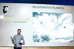 Jost Napret at 55th Annual Awards of Stanko Bloudek for sports achievements in Slovenia in year 2018 on February 4, 2020 in Brdo Congress Center, Kranj , Slovenia. Photo by Grega Valancic / Sportida