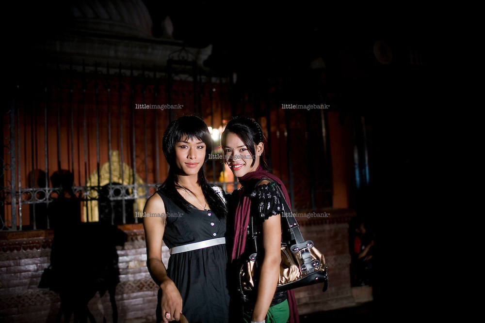 The transgender society of Nepal is one of a conciderable large community. They  have been supressed by the public and abused by security forces for decades and denied public services such as schools etc. In 2001. Sunil Pant returned from Belarus after studies, and was shocked by the violence and supression against his fellow transgender friends. He later founded the Blue Diamond Society, an NGO working for the rights of homosexuals, lesbians and transgender people. Nepal. Kathmandu 04.2008. Photo: Christopher Olssøn/littleimagebank.com