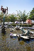 Amaryllis Fountain at Cerritos Civic Center