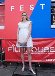 Edinburgh International Film Festival 2019<br /> <br /> Hurt By Paradise (World Premiere)<br /> <br /> Stars and guests arrive on the red carpet for the world premiere<br /> <br /> Pictured: Director Greta Bellamacina<br /> <br /> Aimee Todd   Edinburgh Elite media