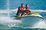 Jet Ski Fun. Lake Macquarie,NSW,Australia