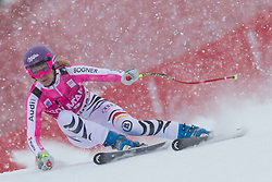 20.01.2013, Olympia delle Tofane, Cortina d Ampezzo, ITA, FIS Weltcup Ski Alpin, Super G, Damen, im Bild Maria Hoefl-Riesch (GER) // Maria Hoefl-Riesch of Germany in action during the ladies Super G of the FIS Ski Alpine World Cup at the Olympia delle Tofane course, Cortina d Ampezzo, Italy on 2013/01/20. EXPA Pictures © 2013, PhotoCredit: EXPA/ Johann Groder