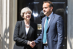 2017-06-19 Irish Taoiseach visits Prime Minister Theresa May at Downing Street