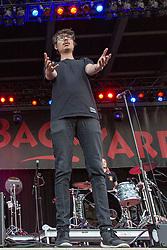 July 3, 2018 - Milwaukee, Wisconsin, U.S - DANIEL ARMBRUSTER of Joywave during Summerfest Music Festival at Henry Maier Festival Park in Milwaukee, Wisconsin (Credit Image: © Daniel DeSlover via ZUMA Wire)
