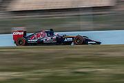 February 19-22, 2015: Formula 1 Pre-season testing Barcelona : Max Verstappen, Scuderia Toro Rosso
