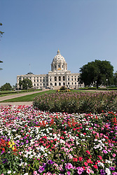 Minnesota, Twin Cities, Minneapolis-Saint Paul: The State Capitol Building in St. Paul, a large dome made of white marble..Photo mnqual309-75039..Photo copyright Lee Foster, www.fostertravel.com, 510-549-2202, lee@fostertravel.com.