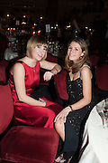 SARAH HORNSBY; LALLY WESTLAKE, THE 35TH WHITE KNIGHTS BALLIN AID OF THE ORDER OF MALTA VOLUNTEERS' WORK WITH ADULTS AND CHILDREN WITH DISABILITIES AND ILLNESS. The Great Room, Grosvenor House Hotel, Park Lane W1. 11 January 2014