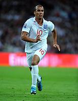 Gabriel Agbonlahor<br /> England 2009/10<br /> England V Belarus (3-0) 14/10/09 <br /> Fifa World Cup Qualifier<br /> Photo Robin Parker Fotosports International
