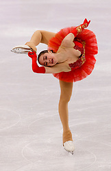 February 12, 2018 - Gangneung, South Korea - ALINA ZAGITOVA of Olympic Athlete from Russia competes during the Team Event Ladies Single Skating FS at the PyeongChang 2018 Winter Olympic Games at Gangneung Ice Arena. (Credit Image: © Paul Kitagaki Jr. via ZUMA Wire)