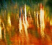 Autumn reflections, Bubble Pond, Acadia National Park, Maine