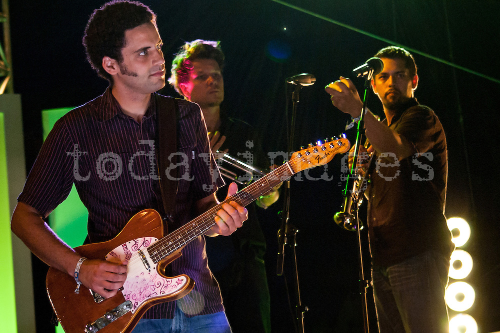 Calexico  at the Benicasim festival in 2007