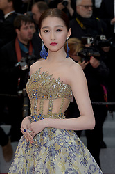 May 17, 2019 - Cannes, France - 72nd Cannes Film Festival 2019, Red Carpet film : Dolor y gloria.Pictured: Guan Xiaotong (Credit Image: © Alberto Terenghi/IPA via ZUMA Press)
