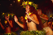Dancers, Rarotonga, Cook Islands, (editorial use only, no model release)<br />