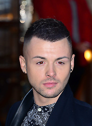 Jaymi Hensley  of Union J attends the press night performance of 'I Can't Sing! The X Factor Musical' at the London Palladium, London, United Kingdom. Wednesday, 26th March 2014. Picture by Nils Jorgensen / i-Images