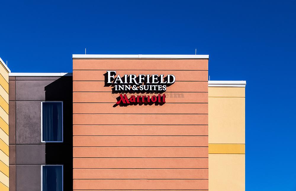 Fairfield Inn & Suites hotel by Marriott, Kissimmee, Florida, USA.