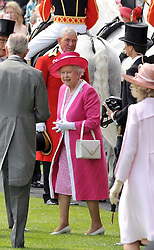 HM THE QUEEN  at the Royal Ascot racing festival 2009 held on 17th June 2009.