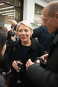 EMILY KING, Editor of Wallpaper: Tony Chambers and architect Annabelle Selldorf host drinks to celebrate the collaboration between the architect and three of Savile Row's finest: Hardy Amies, Spencer hart and Richard James. Hauser and Wirth Gallery. ( Current show Isa Genzken. ) savile Row. London. 9 January 2012.