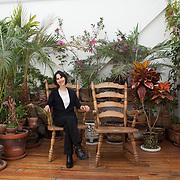 Mexico City, Mexico, February 3, 2019. The Mexican poet Coral Bracho.<br /><br />Città del Messico, Messico, 3 febbraio 2019. La poetessa Messicana Coral Bracho.