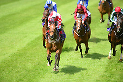 Zihba ridden by Chris Hayes wins the Amethyst Stakes during Derrinstown Stud Derby Trial Day at Leopardstown Racecourse, Dublin.