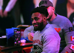 Tottenham player Danny Rose watches the action during day three of the William Hill World Darts Championships at Alexandra Palace, London.