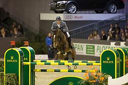 Philippaerts Olivier, (BEL), Armstrong vd Kapel<br /> VDL Groep Prijs<br /> Indoor Brabant - 's Hertogenbosch 2015<br /> © Hippo Foto - Dirk Caremans