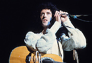LOS ANGELES, CA - FEBRUARY 25: Brian May of Queen in concert at The Forum on February 25, 1977 in Los Angeles, California.