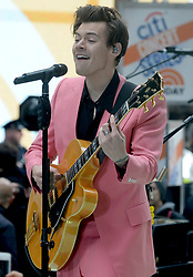 Harry Styles performs live during an appearance on NBC's 'Today' at Rockefeller Plaza in New York City, NY, USA on May 9, 2017. Photo by Dennis Van Tine/ABACAPRESS.COM