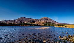Reed beds on Loch Cill Chriosd, Isle of Skye, Scotland in early spring<br /> <br /> (c) Andrew Wilson | Edinburgh Elite media
