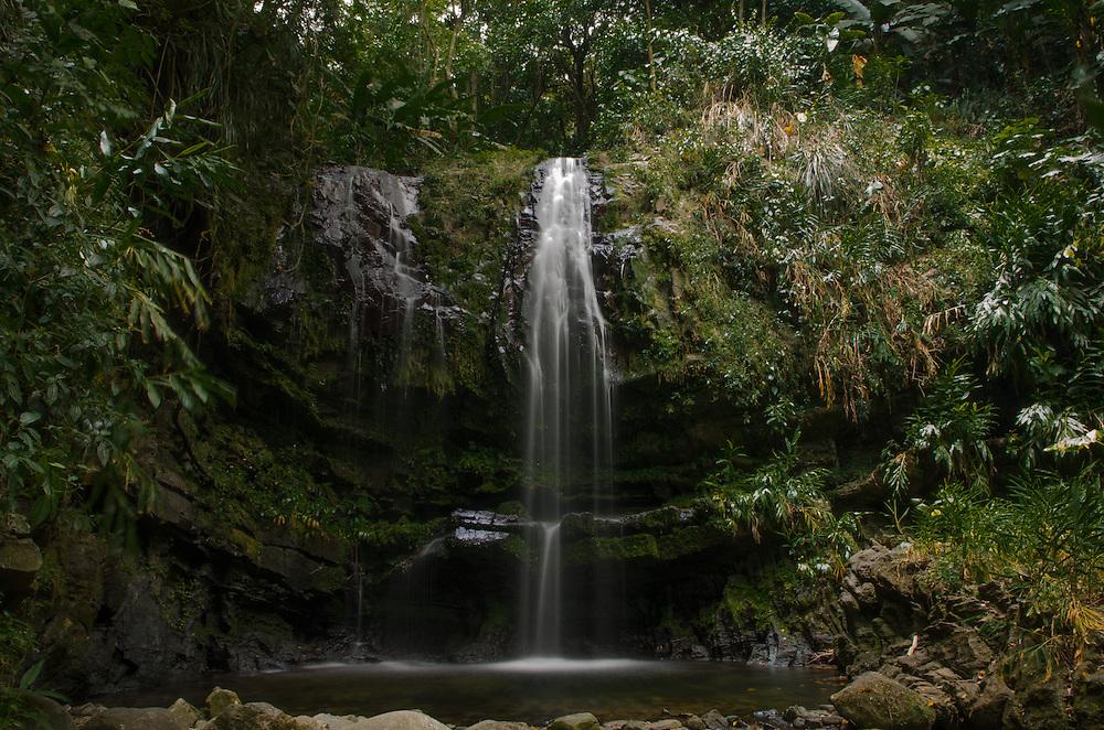 2016-05-28- Las Delicias Waterfall in Ciales, Puerto Rico, Puerto Rico. Located in Carr. # 533, Km. 3.Bo. Cialitos Casa Blanca, Ciales. Cascada Las Delicias, localizada en la Carr. #533, Barrio Cialitos Casa Blanca, en Ciales.