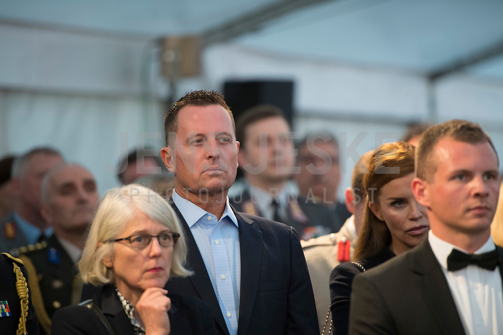DEU, Deutschland, Germany, Berlin, 11.05.2019: US-Botschafter Richard Grenell beim Festakt im Alliiertenmuseum anlässlich des 70. Jahrestags des Endes der sowjetischen Blockade von West-Berlin.