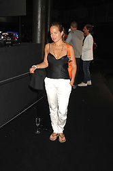 JADE JAGGER at a party to celebrate the launch of the new Fiat Bravo held at The Roundhouse Theatre, Chalk Farm Road, London on 13th June 2007.<br /><br />NON EXCLUSIVE - WORLD RIGHTS