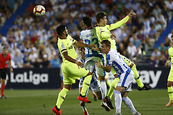 September 26, 2018 - Leganes, Madrid, Spain - Luis Suarez (FC Barcelona) during the La Liga match between CD Leganes and FC Barcelona at Butarque Stadium in Leganes. (Credit Image: © Manu Reino/SOPA Images via ZUMA Wire)