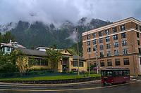 Juneau-Douglas City Museum (left) & Alaska State Capitol, 4th Street
