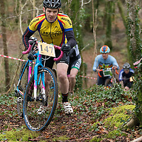 Stuart Cox taking part in the Ennis CX Cyclocross Race
